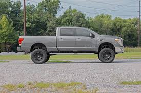 6in Nissan Suspension Lift Kit (16-18 Titan XD 4WD) | 2016 Nissan ... How To Choose A Lift Kit For Your Truck Revtek 25 072014 Toyota Tundra Rightsized Mcgaughys 7inch Gm Suspension Photo Kelderman D4f423x10 810 Front Air Chevy 23500 4wd Rear Cantilever 4 Link System 12017 Leveling Kits Ameraguard Accsories Rbp System For Trucks Carviewsandreleasedatecom Rough Country 3inch Nocut D4r43sb10 19992006 1500 6inch By Youtube Gallery Homepage Slideshow 2017 Ford F250 F350
