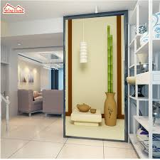 100 Bamboo Walls ShineHome Vase Tea Time Door Frame SPA Life Wallpaper For 3 D