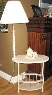 Floor Lamps With Table Attached by 6538 0641s Lamp End Table Round 74s With Walmart At Lowes Diriz