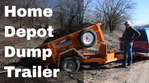 100 Truck Rentals Home Depot Dump Trailer For Compost And Mulch Hauling