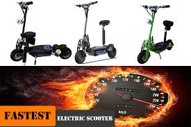 Fastest Adult Electric Scooter With Seat
