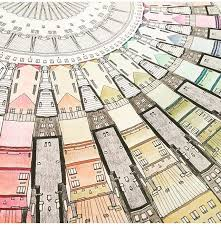 23 Best Fantastic Cities Colouring Images On Pinterest