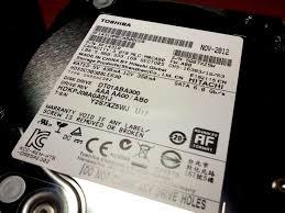 toshiba canvio desktop external hard drive disassembly