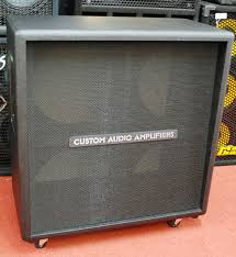 Mesa Boogie Cabinet 4x12 by Custom Audio Cabinet 4x12 Ul Unloaded Station Music