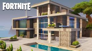 100 Modern Hiuse Fortnite Creative House Speed Build