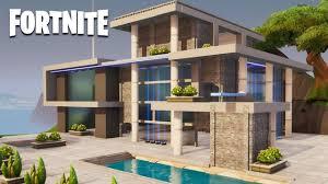 100 Modern Houses Fortnite Creative House Speed Build