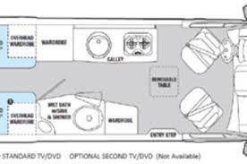 Airstream Interstate Floor Plans Mercedes SprinterSprinter VanConverted