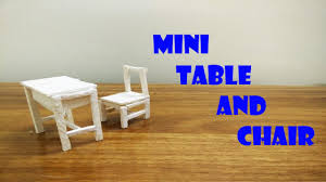 DIY Mini Classroom Tables And Chairs Made Out Of Popsicle Stick - Miniature  Dollhouse Wonderful Bamboo Accent Chair Decor For Baby Shower Single Vintage Thai Style Classroom Wooden Table Stock Photo Edit Hille Se Chairs And Capitol 3508 Euro Flex Stack 18 Inch Seat Height Classic Ergonomic Skid Base Rustic Tables Details About Stacking Canteenclassroom Kids School Black Grey Red Green Blue Empty No Student Teacher Types Of List Styles With Names 7 E S L Interior With Chalkboard Teachers