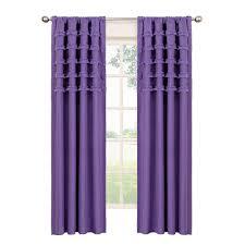Ruffle Blackout Curtain Panels by Eclipse Blackout Ruffle Batiste Blackout Pool Polyester Rod Pocket