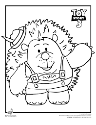 Mr Pricklepants Toy Story Coloring Page