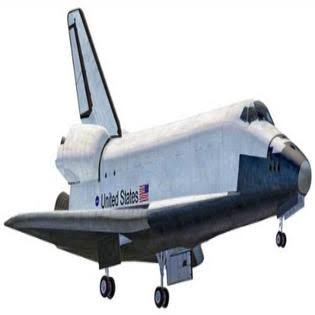 Revell 851393 Snap-Tite Space Shuttle Plastic Model - 1:250 Scale