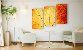 herbsttriptychon poster und wandbilder für wohnzimmer