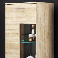 details zu wohnwand anbauwand tv wand wohnzimmer möbel set cool 4 teilig eiche sonoma