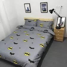 batman twin queen king size bedding set kids duvet cover bed sheet