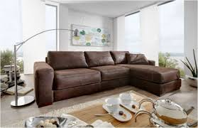 leder eckgarnitur sofa eckcouch leder dunkelbraun