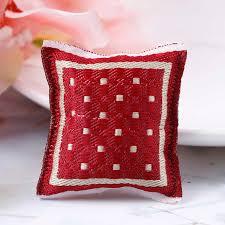 1 12 türkische platz kissen miniatur puppenhaus schlafzimmer möbel zubehör miniatur rot platz kissen puppe haus