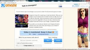 Fix Omegle Video camera not working Problem