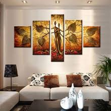 Homarlt Idea Oil Painting Hand Painted Canvas 5 Piece