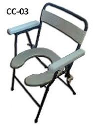folding commode chair manufacturers suppliers exporters in india