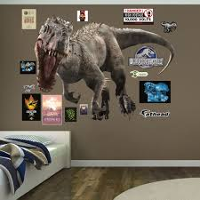 Fathead Baby Wall Decor by Indominus Rex Jurassic World Fathead Wall Decals