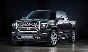 GMC Updates Sierra Pickup's Face For 2016