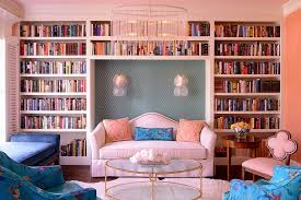 20 and cheerful pink living rooms