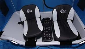 Clam Ice Fishing Seats by Re Launched Clam Fish Trap X2 Wows Avid Ice Anglers Outdoorhub