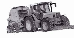Coloriage Tracteur John Deere A Imprimer
