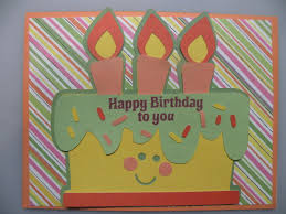 Easy To Make Homemade Birthday Card With A Cricut