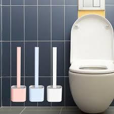 die reinigung der silikon toilettenbürste reduziert den