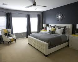 Bedroom Lovely Master Decor Ideas With Plain Dark Grey