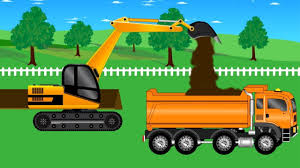 100 House Trucks Yellow Truck And Bulldozer Building A For Kids YouTube
