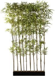 künstliche zimmerpflanze bambus grün material bambus bambusraumteiler creativ green