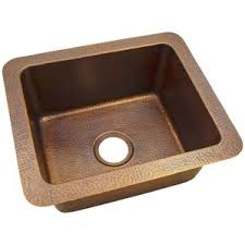 33x22 Copper Kitchen Sink by Copper Drop In Kitchen Sinks You U0027ll Love Wayfair