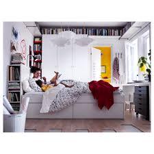 King Size Headboard Ikea Uk by Brimnes Bed Frame W Storage And Headboard White Luröy Standard