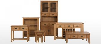 Tall Slim Cabinet Uk by Rustic Oak Tall Slim Bookcase Quercus Living