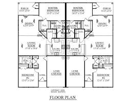 Small Duplex Floor Plans by Crafty Design Duplex Home Plans And Designs One Level Duplex