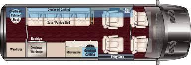 Daycruiser Van Floor Plan S4
