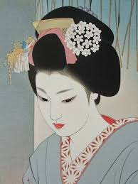 Japanese Artist Shimura Tatsumis Work Feature Stunningly Simple Yet Refined Images Of The Beauties