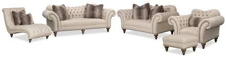 Value City Furniturecom by The Brittney Living Room Collection Linen Value City Furniture