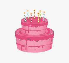 Pink Cake Birthday Cake Pink Cake Free PNG Image