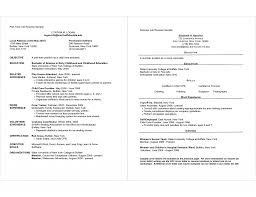 Part Time Job Resume Mesmerizing Resumes Examples Also Sample For