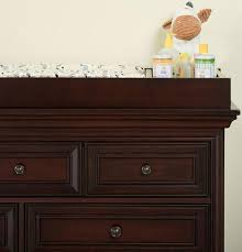 Babies R Us Dresser Changing Table by Oxford Baby Promenade Park Changing Table Topper Cherry Ash