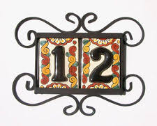 mexican tile numbers ebay