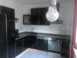 komplette küche mit side by side kühlschrank