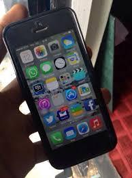 Iphone 5s Black Used Iphone 5s Black 3d Model Obj Blend Mtl 3