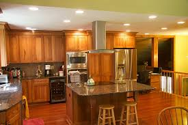 Kitchen Island With Cooktop And Seating Kitchen Island Remodeling Contractors Syracuse Cny