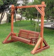Wooden Garden Swing Seat Plans by Arbor Swing Plans Outdoor Furniture Plans U0026 Projects For Wood