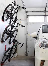 Ceiling Bike Rack Diy by Bike Wall Hanger Dahanger Dan Bike Hook Reclaim Your Floor Space