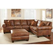 Brown Corduroy Sectional Sofa by Furniture Best Design Of Brown Leather Sectional For Modern